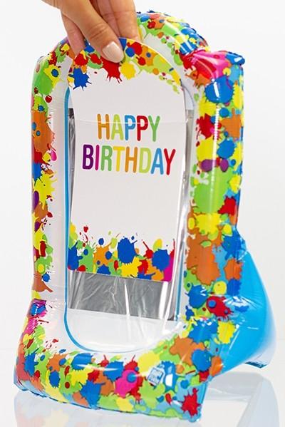 Gift-N-Flate Paint Splatter
