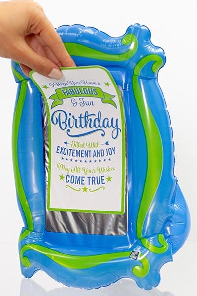 Gift-N-Flate Blue Green Marquee