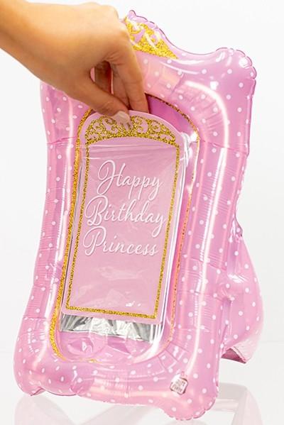 Gift-N-Flate Tiara Pink White Dots