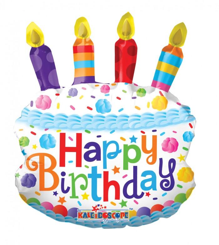 14 BIRTHDAY CAKE MINI SHAPE Balloons Wholesale Helium
