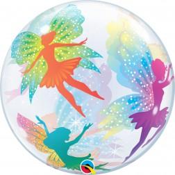 "Bubble 22"" Magical Fairies & Sparkles"