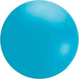 4' Island Blue Chloroprene Cloudbuster Balloon