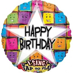Sing-A-Tune: Happy Birthday Faces
