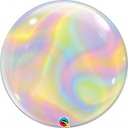 "Bubbles 22"" Iridescent Swirls"