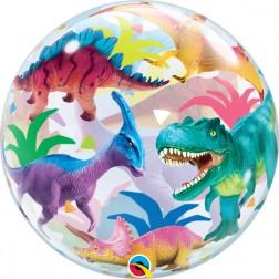 "Bubble 22"" Colorful Dinosaurs"