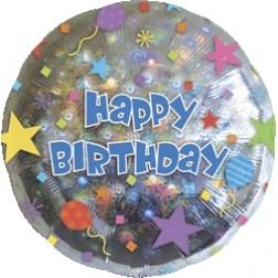 Holo: Happy Birthday Confetti