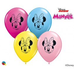 """05"""" DN Minnie Mouse Face Special Ast (100 ct.)"""