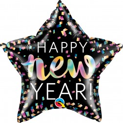 """20"""" Star New Year Iridescent"""