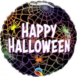 """18"""" Halloween Spiders & Webs"""