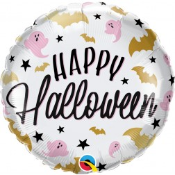 "18"" Halloween Glam Bats & Ghosts"
