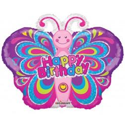 "14"" PR Colorful Butterfly Shape"