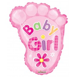 "14"" PR Baby Girl Foot Shape"