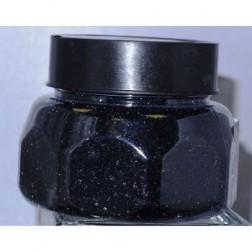 Glitter Jar Black 8oz