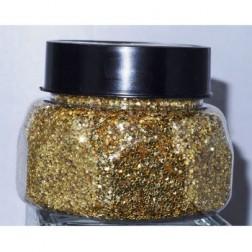 Glitter Jar Gold 8oz