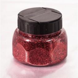 Glitter Jar Red 8oz