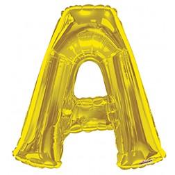"""34"""" SP: Gold Shape Letter A"""