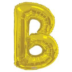 "34"" SP: Gold Shape Letter B"