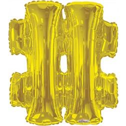 """14"""" SP: Symbol # Gold"""