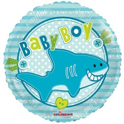 "18"" SP: BV Baby Boy Little Shark"