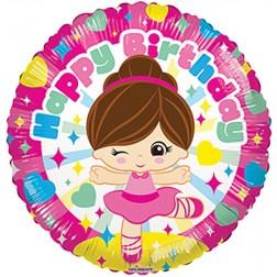 """09"""" PR Birthday Ballerina GB"""