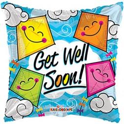 "09"" PR Get Well Soon Kites GB"