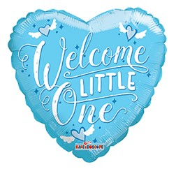 """09"""" PR Welcome Little One Blue GB"""