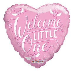 """09"""" PR Welcome Little One Pink"""