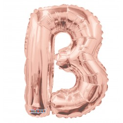 "AirFilled 14"" SP: Rose Gold Shape Letter B"