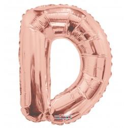 "AirFilled 14"" SP: Rose Gold Shape Letter D"