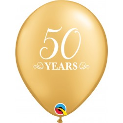"""11"""" 50 Years Gold (50 ct.)"""