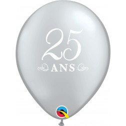 """11"""" 25 ans Silver (50 ct.)"""