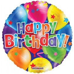 "18"" SP: BV Birthday Balloons"