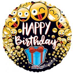 "18"" SP: BV Birthday Smilies & Present"