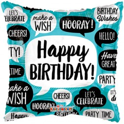 "18"" SP: BV Birthday Bubbles"