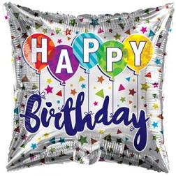 "18"" SP: BV Birthday Latex Balloons"