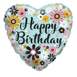 "18"" SP: BV Birthday Flowers"