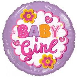 "18"" SP: BV Baby Girl Quilt"