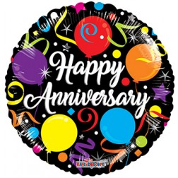 "18"" SP: BV Anniversary Streamers"