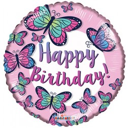 "18"" SP: BV Birthday Butterflies"