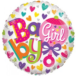 "18"" SP: BV Baby Girl Rattle"