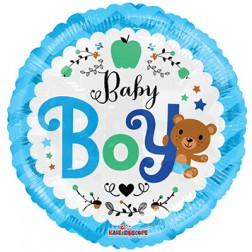 "18"" SP: BV Baby Boy Bear"