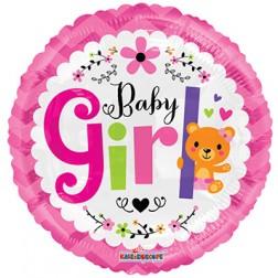 "18"" SP: BV Baby Girl Bear"