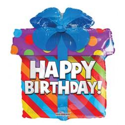 "18"" SP: Birthday Present Shape"