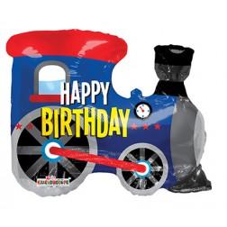 "12"" Birthday Choo Choo Shape"