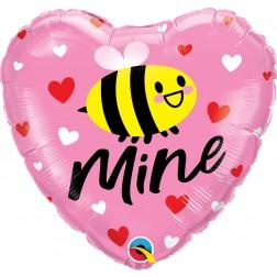 """18"""" Bee Mine Hearts"""