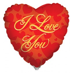 "4"" BV I Love You Gold"