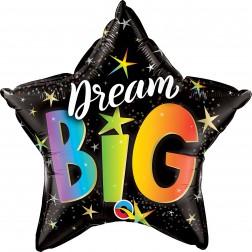 "20"" Dream Big Rainbow Stars"