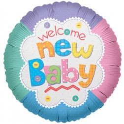 "4"" PR Welcome Baby Quilt"