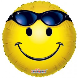 """09"""" SV Smiley With Glasses"""