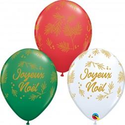 "11"" Joyeux Noel-Branches De Sapin Special Ast. (50 ct.)"